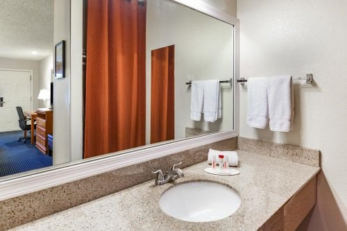 GreenTree Inn Flagstaff badkamer