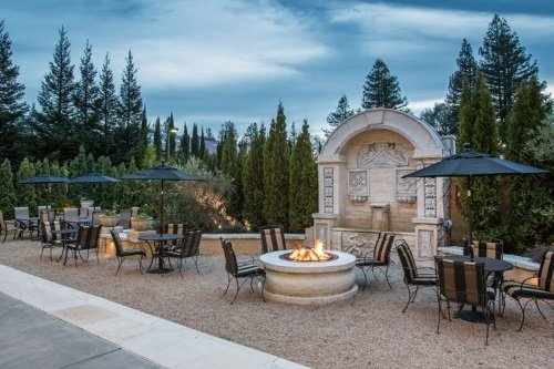 Best Western Dry Creek Inn terras