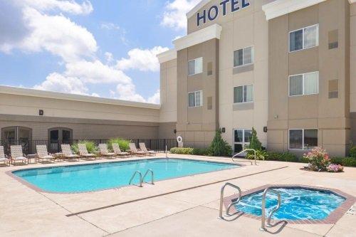 Hotel Vue zwembad