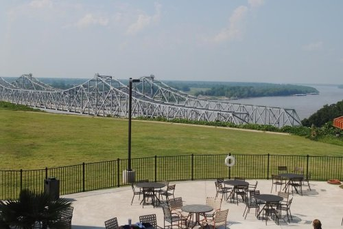 Hotel Vue uitzicht Mississippi