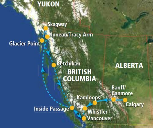 CanadaPLUS: Western Canada & the Inside Passage (16 dagen)