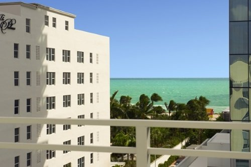 Hilton Garden Inn South Beach Miami uitzicht