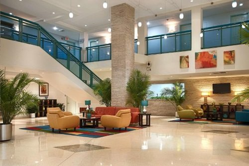 Best Western Atlantic Beach Resort lobby