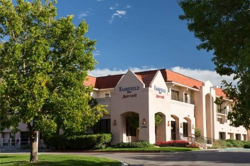 Marriott Fairfield Inn Albuquerque University Area buitenkant