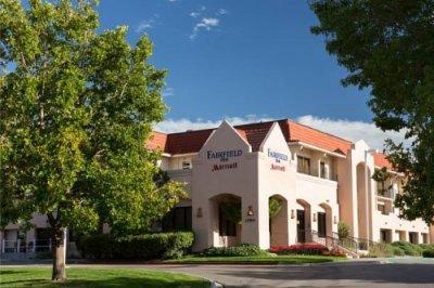 Marriott Fairfield Inn Albuquerque University Areabuitenkant