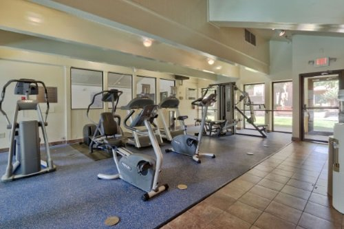 Marriott Fairfield Inn Albuquerque University Area fitnesscenter