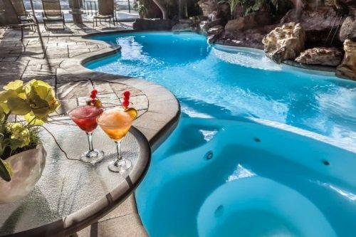 Hotel Universel Sainte Foy zwembad