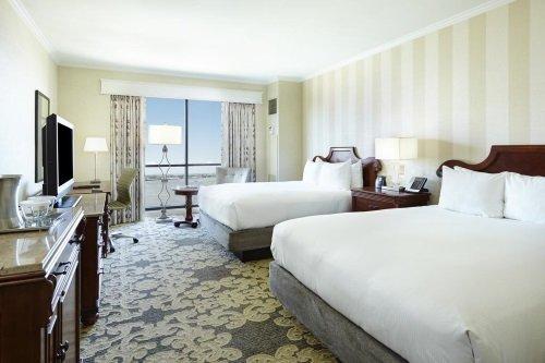 Hilton New Orleans Riverside kamer