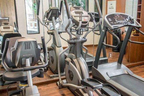 Comfort Suites Historic District fitness