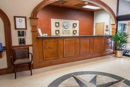 Comfort Suites Historic District receptie