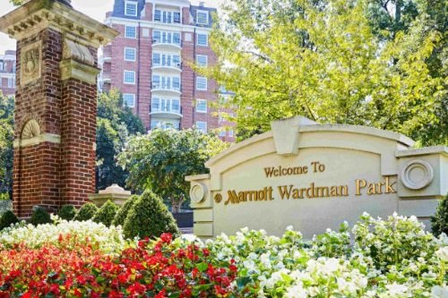 Marriott Washington Wardman Park buitenkant