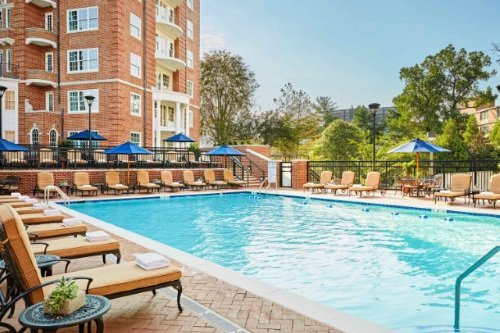 Marriott Washington Wardman Park zwembad