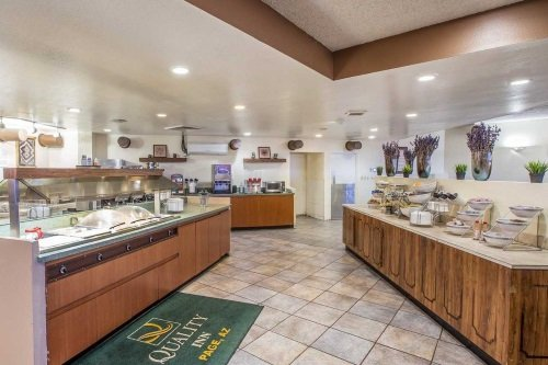 Quality Inn At Lake Powell buffet