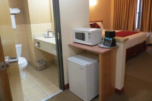 First Gold Hotel badkamer koelkast magnetron