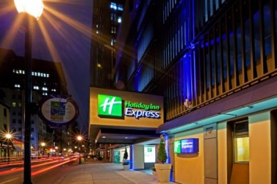 Holiday Inn Express Philadelphia Midtown buitenkant