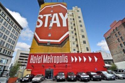 Metropolis Hotel buitenkant