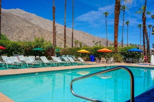 Rodeway Inn Palm Springs zwembad