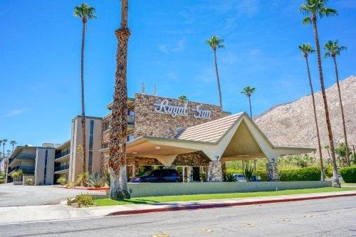 Rodeway Inn Palm Springs buitenkant