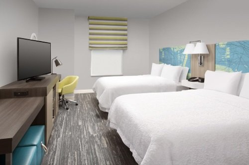 Hampton Inn Miami Airport East kamer