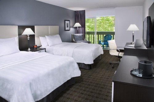 Toronto Don Valley Hotel and Suites kamers