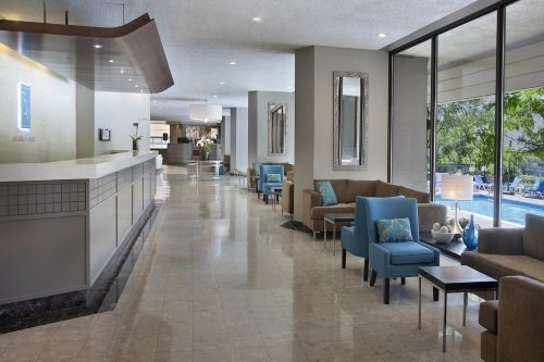 Toronto Don Valley Hotel and Suites lobby