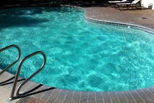 Mammoth Mountain Inn zwembad