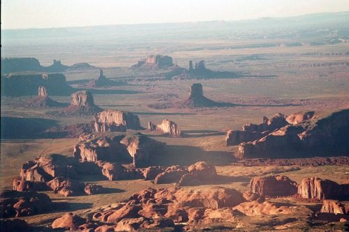 Monument Valley from the air