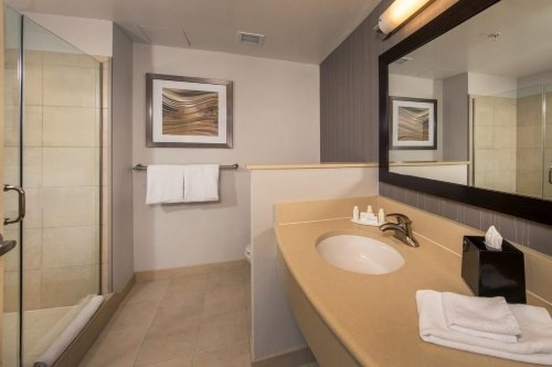 Courtyard by Marriott Washington badkamer