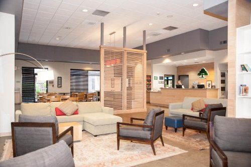 GreenTree Inn & Suites Phoenix lounge en receptie