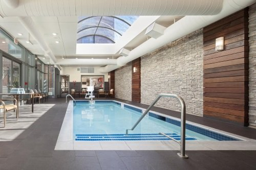 Courtyard by Marriott Boston Brookline binnenzwembad