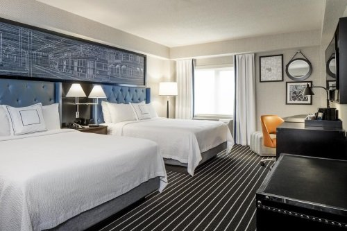 Courtyard by Marriott Boston Brookline kamer