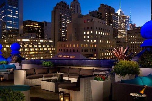 The Roosevelt Hotel dakterras
