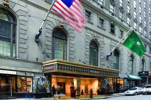 The Roosevelt Hotel buitenkant