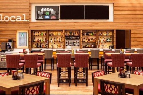 Philadelphia 201 Hotel bar