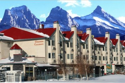 Quality Resort Chateau Canmore BUITENKANT