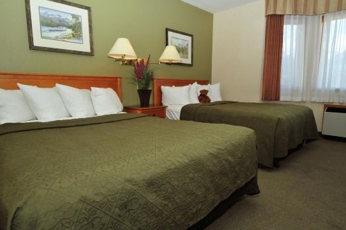 Quality Resort Chateau Canmore kamer