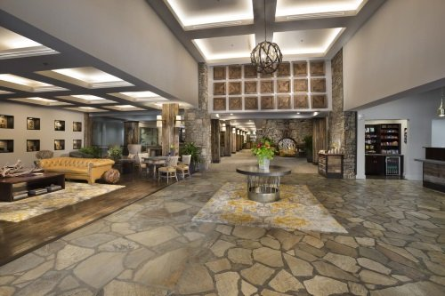 Crowne Plaza Resort lobby
