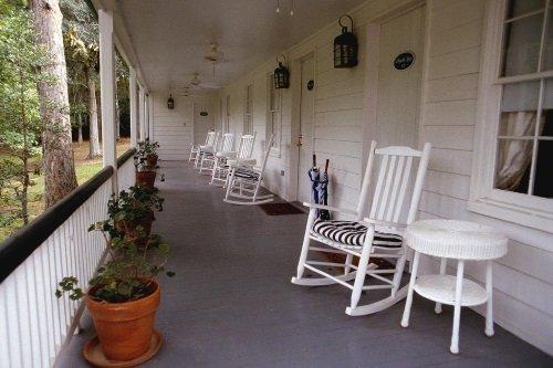 Monmouth Historic Inn varanda