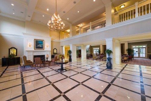 Hampton Inn en Suites Vicksburg hal