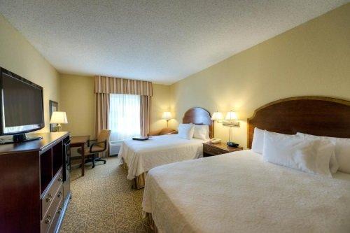 Hampton Inn en Suites Vicksburg kamer