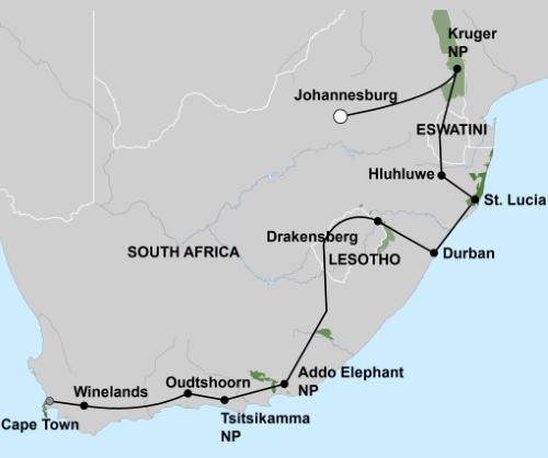 Het Beste van Zuid Afrika (22 dagen)