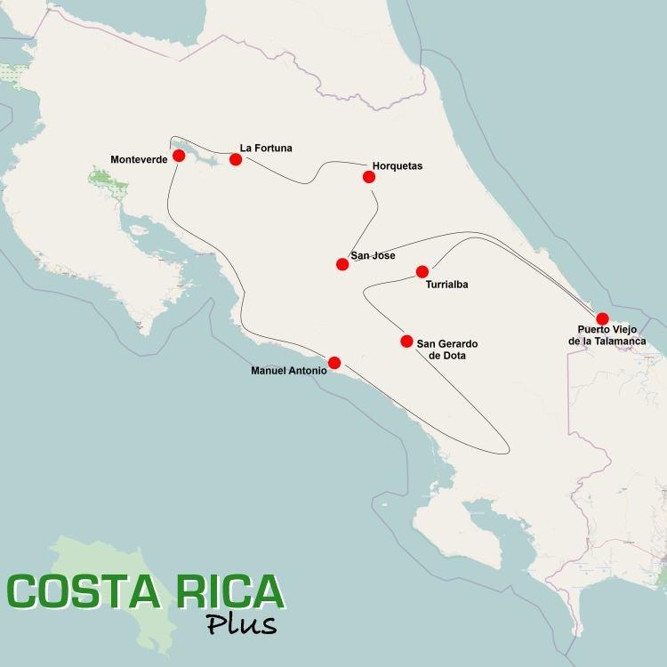 Discover Costa Rica (16 dagen)