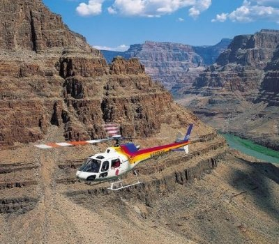 Helicopter Flight over the Grand Canyon