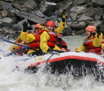Jasper Raft Tour