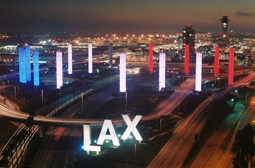 Los Angeles luchthaven 001